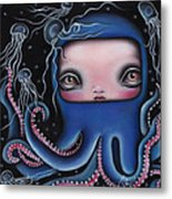 Jolenta Metal Print by  Abril Andrade Griffith
