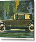 Jordan Line Eight Victoria Car 1925 Metal Print by The Advertising Archives