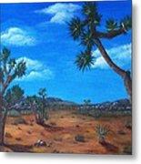 Joshua Tree Desert Metal Print by Anastasiya Malakhova