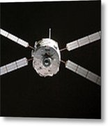 Jules Verne Automated Transfer Vehicle Metal Print by Anonymous