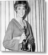 Julie Andrews, With Her Best Actress Metal Print by Everett