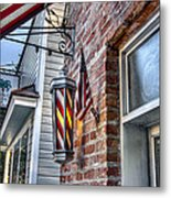 Just A Little Off Of The Top Metal Print by Walt  Baker
