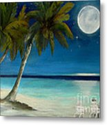 Just Beyond The Moon Metal Print by Sharon Burger
