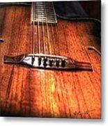 Just Music Digital Guitar Art By Steven Langston Metal Print by Steven Lebron Langston