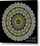 Kaleidoscope Ernst Haeckl Sea Life Series Steampunk Feel Metal Print by Amy Cicconi