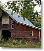 Kansas Hay Barn Metal Print by Guy Shultz