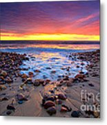 Karrara Sunset Metal Print by Bill  Robinson