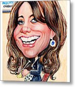 Kate Middleton. Duchess Of Cambridge Metal Print by Daniel Byrne