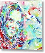 Kate Middleton Portrait.1 Metal Print by Fabrizio Cassetta