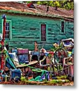Katrina Memory Metal Print by Steve Harrington