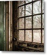 Keep Door Locked Metal Print by Gary Heller