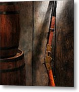 Keeping The Stockroom Metal Print by Olivier Le Queinec