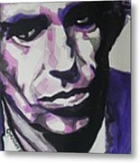 Keith Richards Metal Print by Chrisann Ellis
