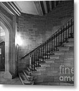 Kenyon College Peirce Stairway Metal Print by University Icons