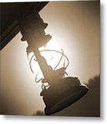 Kerosene Lantern Metal Print by Mike McGlothlen