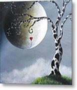 Key To My Imagination By Shawna Erback Metal Print by Shawna Erback