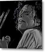King Of Pop Metal Print by Twinfinger