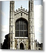 King's College Chapel - Poster Metal Print by Stephen Stookey