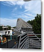 Kings Dominion - 12123 Metal Print by DC Photographer