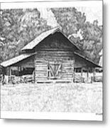 King's Mountain Barn Metal Print by Paul Shafranski