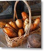 Kitchen - Food - Bread - Fresh Bread  Metal Print by Mike Savad