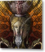 Kitchen Goddess Metal Print by Larry Butterworth