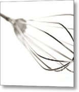Kitchen Whisk Metal Print by Olivier Le Queinec