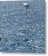 Kite Surfing Metal Print by Brian Roscorla