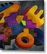 Kivi Pampa Apu Metal Print by Fernando  Ocampo Sandy