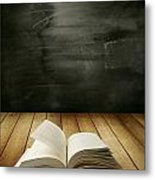 Knowledge Metal Print by Les Cunliffe
