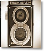 Kodak Reflex Camera Metal Print by Mike McGlothlen