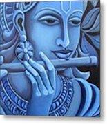 Krishna Metal Print by Vishwajyoti Mohrhoff