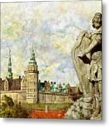 Kronborg Castle Metal Print by Catf