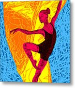 La Ballerina Du Juilliard Metal Print by Pierre Louis
