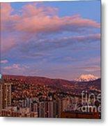 La Paz Twilight Metal Print by James Brunker