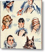La Vie Parisienne 1924 1850s France F Metal Print by The Advertising Archives