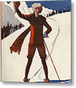 La Vie Parisienne  1924 1920s France Metal Print by The Advertising Archives