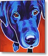 Lab - Olive Metal Print by Alicia VanNoy Call