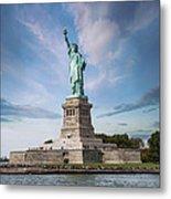 Lady Liberty Metal Print by Juli Scalzi