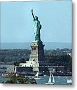 Lady Liberty Metal Print by Kristin Elmquist