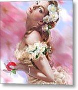 Lady Of The Camellias Metal Print by Drazenka Kimpel