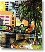 Lake Eola - Part 3 Of 3 Metal Print by Everett Spruill