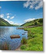 Lake In Wales Metal Print by Adrian Evans