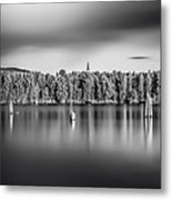 Lake Oyeren Metal Print by Erik Brede