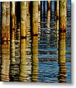 Lake Tahoe Reflection Metal Print by Bill Gallagher