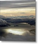 Lakescape Metal Print by Mamie Gunning