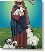 Lamb Of God Metal Print by Victoria De Almeida