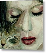 Lana Del Rey And A Friend  Metal Print by Paul Lovering