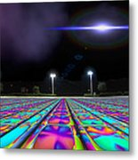 Landing Pad 5 A M Metal Print by Wendy J St Christopher