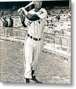 Larry Doby Metal Print by Retro Images Archive